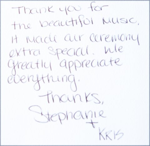 Testimonial Stephanie and Kris
