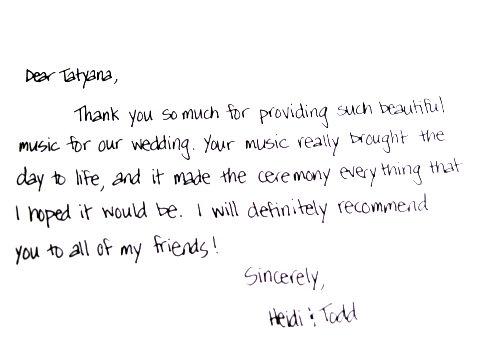 Testimonial Heidi & Todd